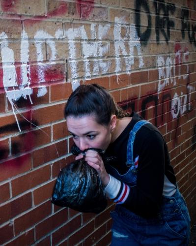 Killymuck, written by Kat Woods, starring Aoife Lennon (Photo:Javier Ortega Saez)